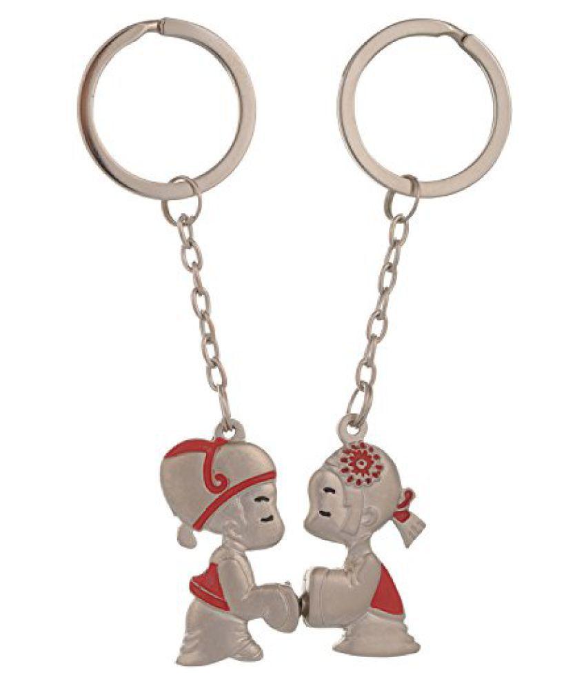 Kairos Cute Japanese Couple Keychain Magnet Key Chain (KC-Japenese-Couple )