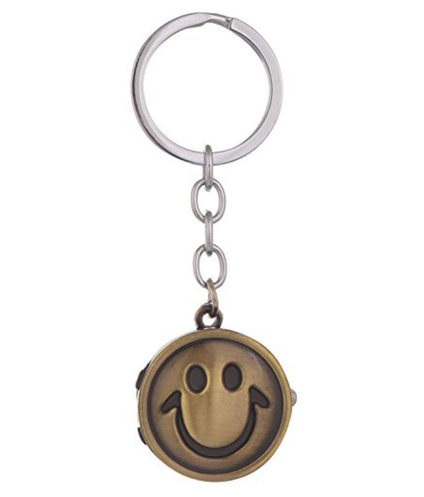 Kairos Designer Smiley Watch Key Chain Bronze Clock Keychain (KC-Smiley-Watch )