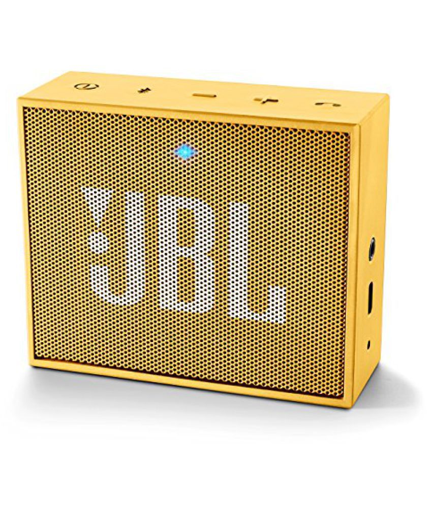 buy jbl go portable wireless bluetooth speaker yellow. Black Bedroom Furniture Sets. Home Design Ideas