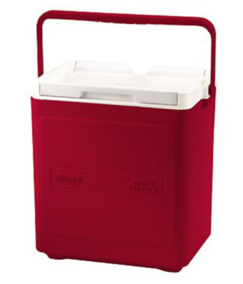 Coleman Party Stacker Cooler,(Red)