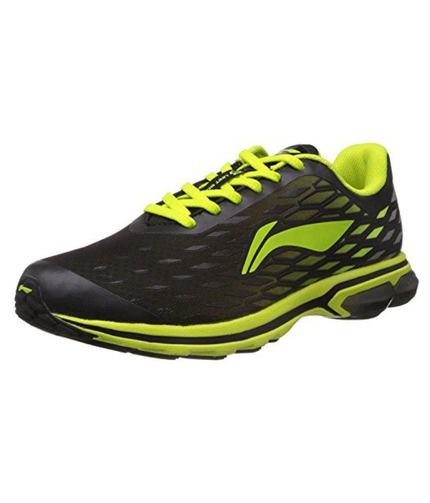 Li-Ning ARHH005-1 Running Shoes Black & Green