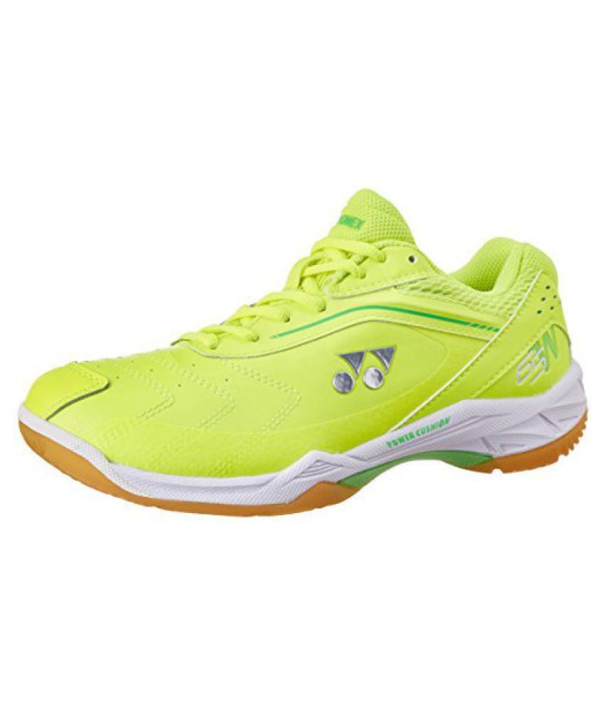 Yonex Badminton Shoes SHB 65 WIDE EX UK 11 (Bright Yellow)