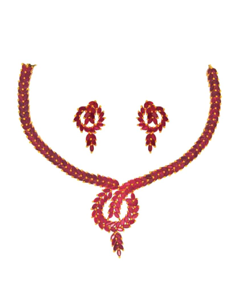 Anjali Jewellers Necklace Set - Buy Anjali Jewellers Necklace Set ...