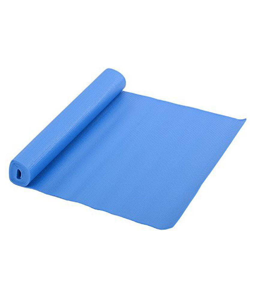 Cockatoo Unisex PU Foam Yoga Mat 4 mm Blue And Pink