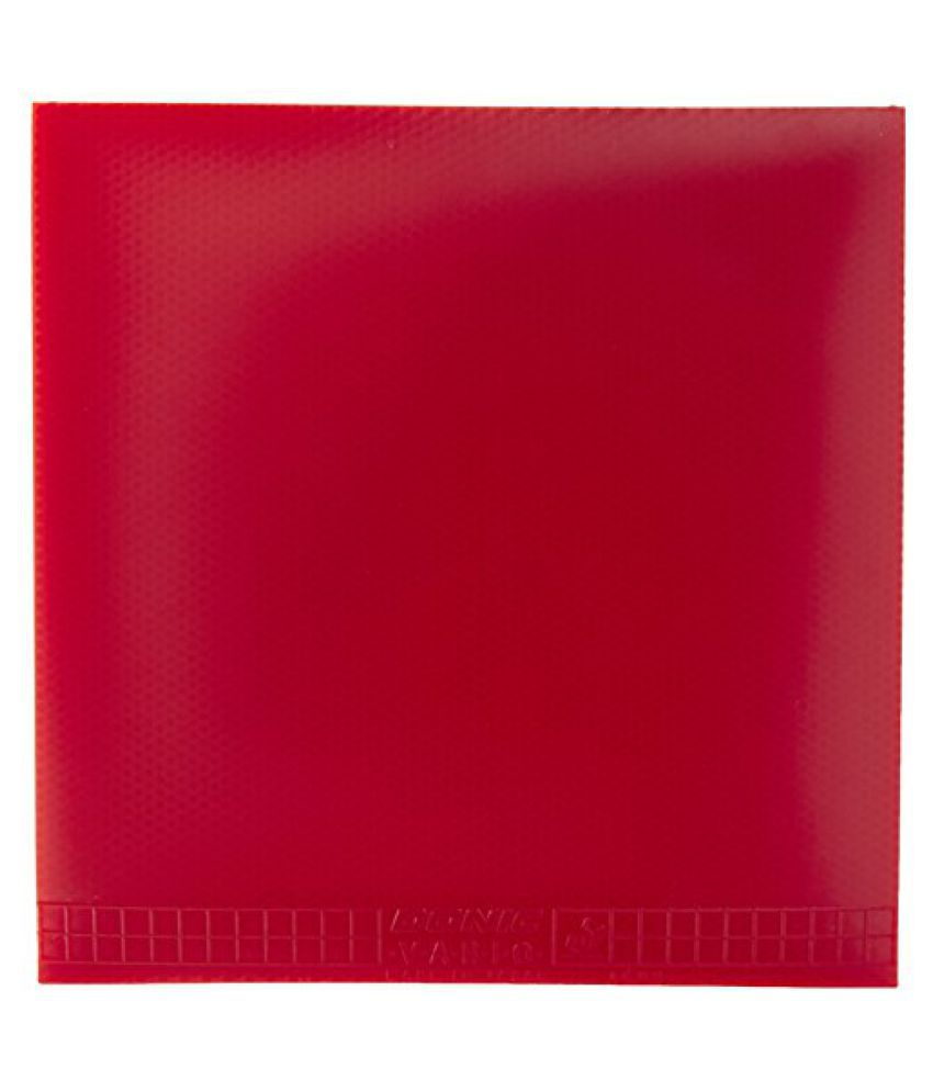Donic Vario Table Tennis Rubber (Red)