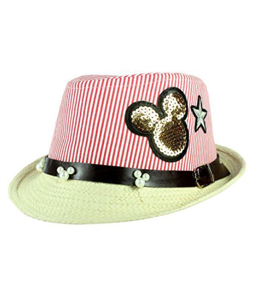 FabSeasons Kids Fedora Hat, 6-10 Years
