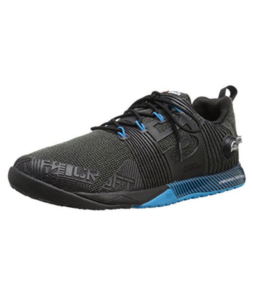 Reebok Men s R Crossfit Nano Pump FS Cross-Trainer Shoe Black/Far Out Blue 11.5 D(M) US