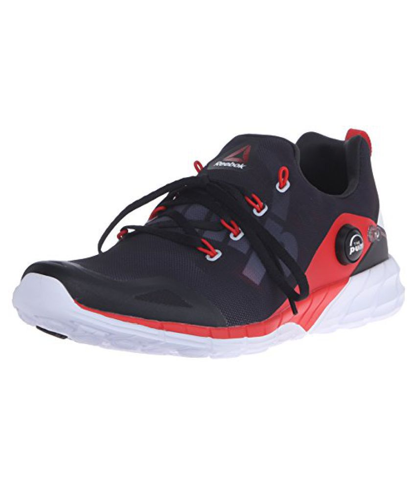 Reebok Men s Zpump Fusion 2.0 Running Shoe Motor Red/Coal/Black/White 8 D(M) US