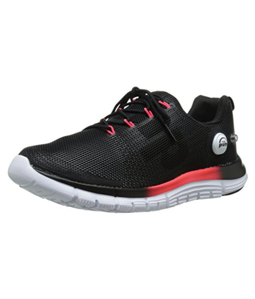Reebok Women s Z Pump Fusion Polyurethane Running Shoe White/Black/Neon Cherry 9.5 B(M) US