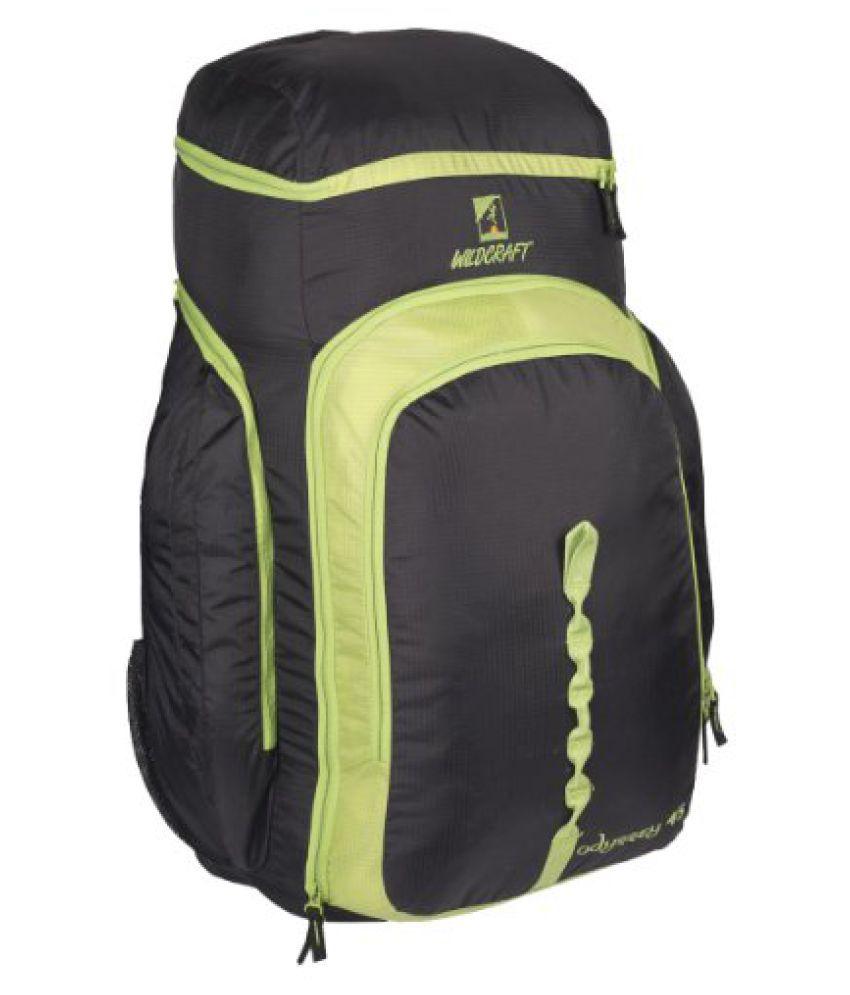 Wildcraft Odyssey 45 Nylon Green Hiking Backpacks and Rucksacks(8903338013662)