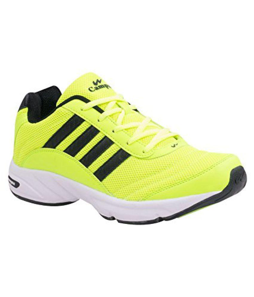Campus ANTRO-3 Black Men Sport Shoes