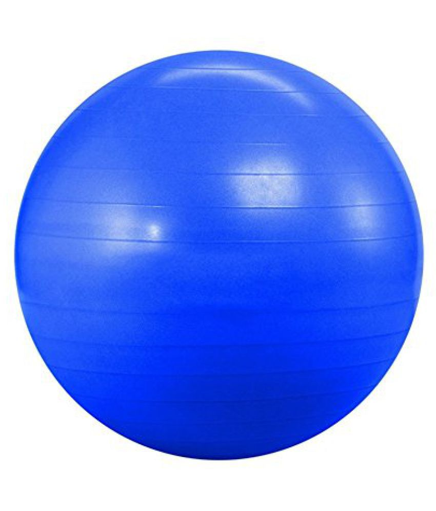 KOBO Imported Gym Ball 85 cm Anti Burst Blue Colour