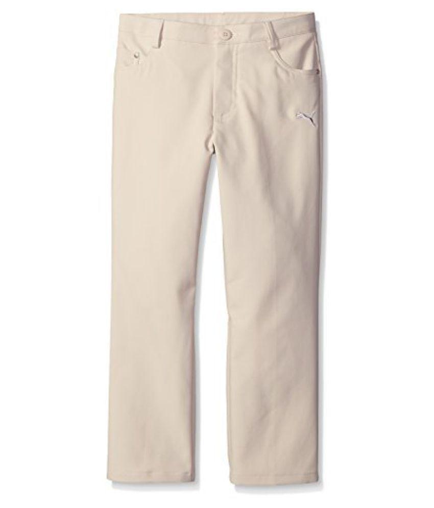 Puma Golf Boys Junior 5 Pocket Pants