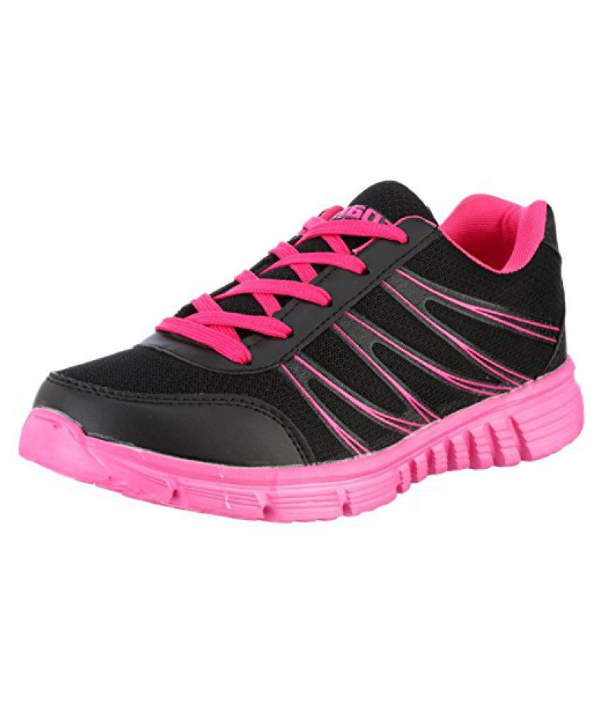 Sparx Women's Mesh and Synthetic Leather Running Shoes