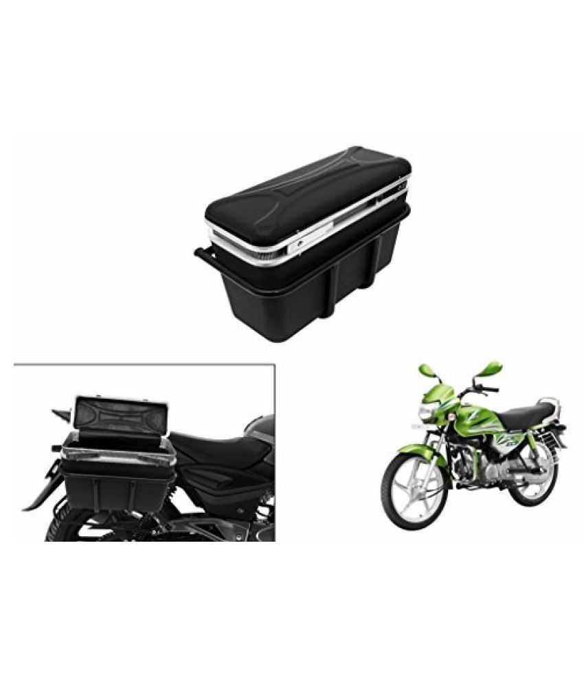 Speedwav DLB-1 Bike Double Lock Luggage Box Black-Hero HF Deluxe Eco