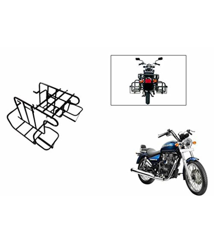 Speedwav Heavy Luggage Bike Carriers Black-Royal Enfield Thunderbird 350 Type 2
