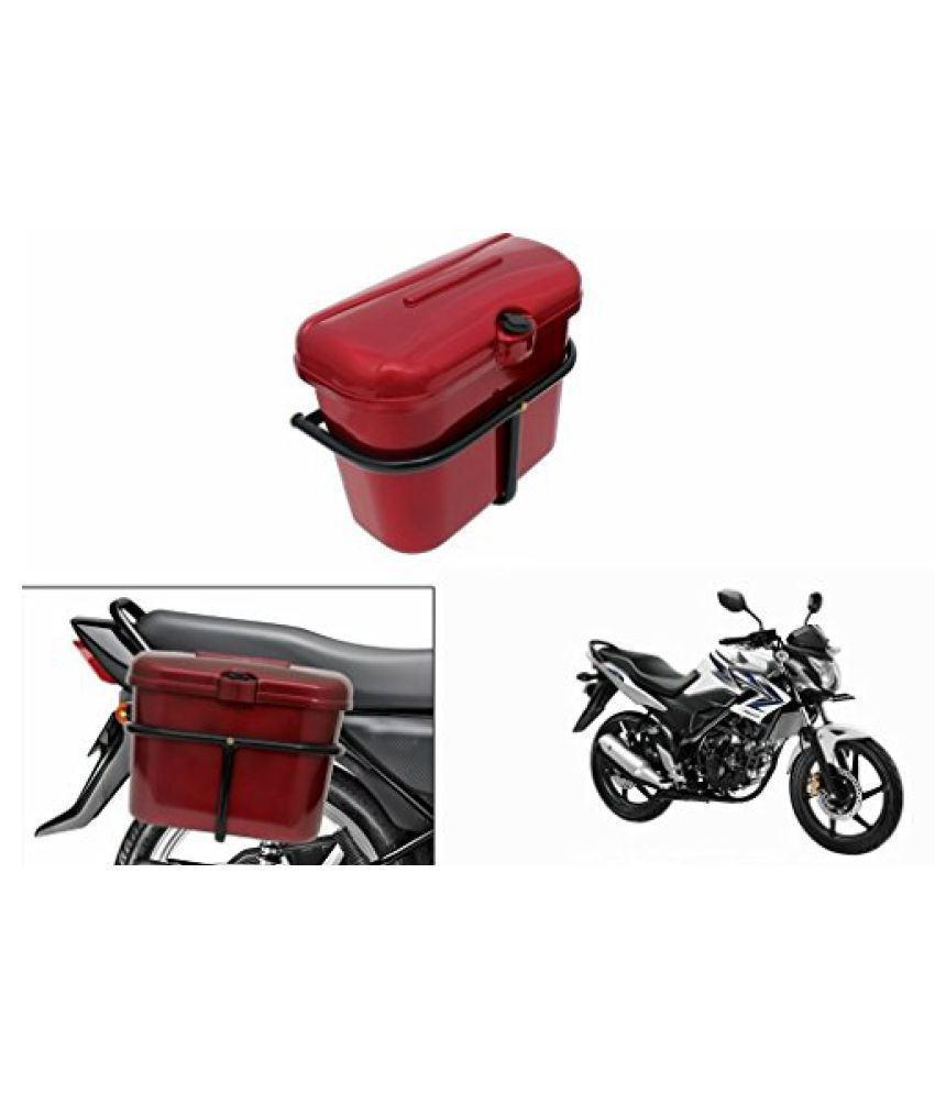 Speedwav Bike SLB-1 Side Luggage Box Red-Honda Trigger