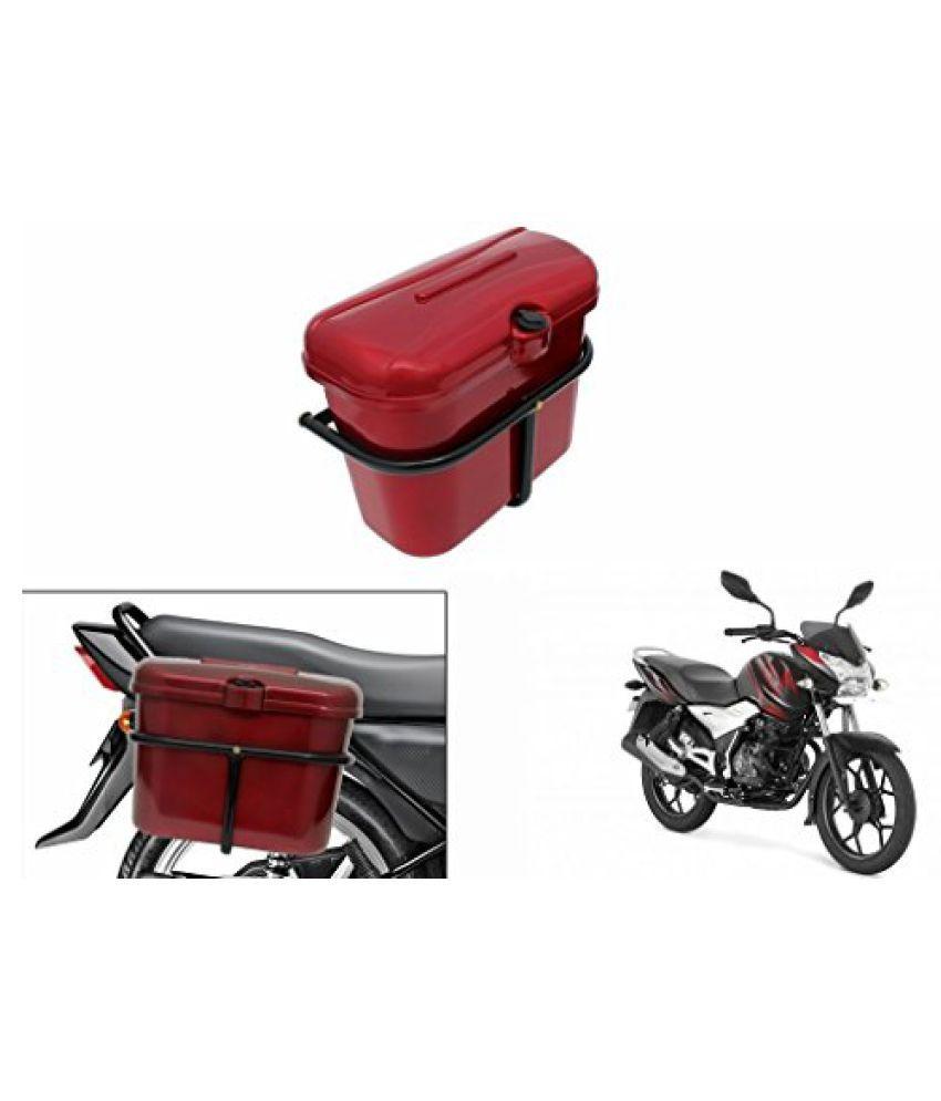 Speedwav Bike SLB-1 Side Luggage Box Red-Bajaj Discover 100 M / T DTS-i