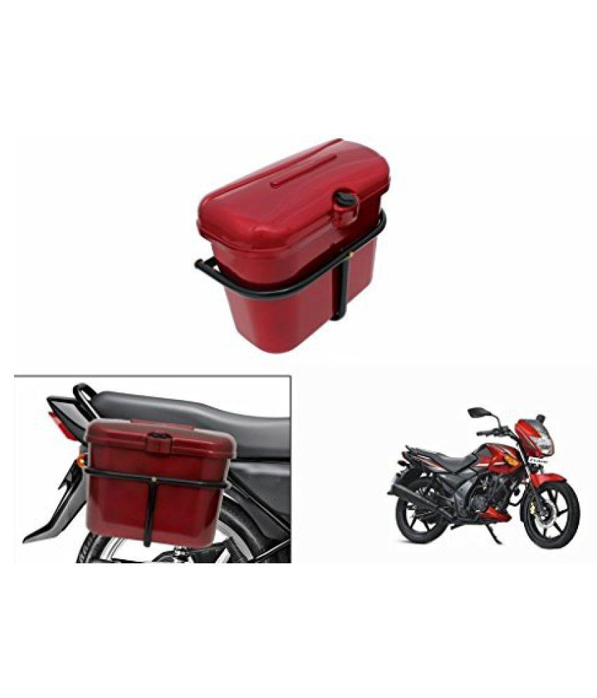 Speedwav Bike SLB-1 Side Luggage Box Red-TVS Flame DS125