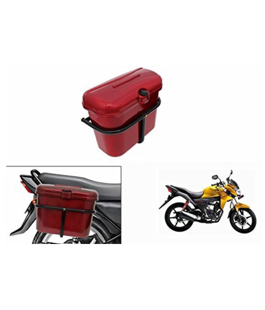 Speedwav Bike SLB-1 Side Luggage Box Red-Honda CB Twister