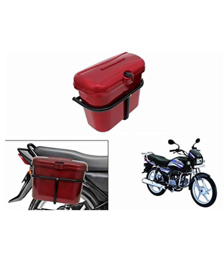Speedwav Bike SLB-1 Side Luggage Box Red-Hero Splendor