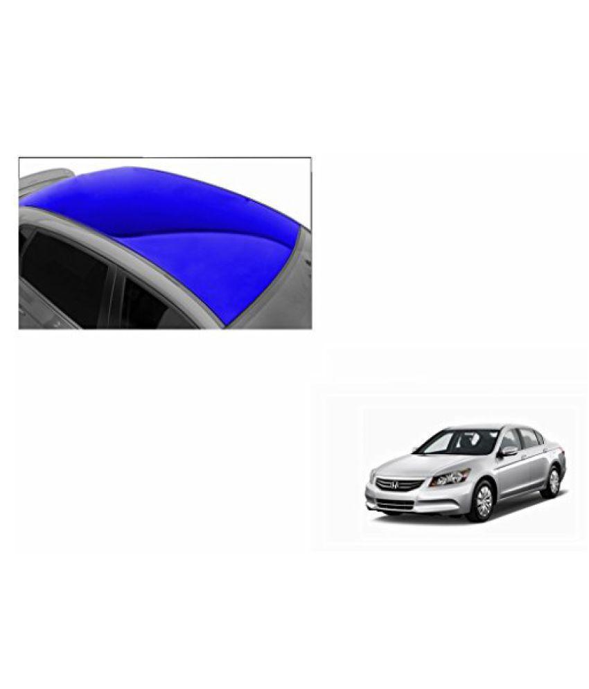 Speedwav Car Roof Glossy Wrap Sheet Blue-Honda Accord 2.4 Type 3 (2009-2011)