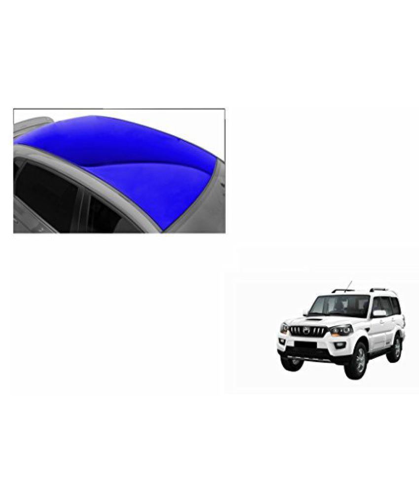 Speedwav Car Roof Glossy Wrap Sheet Blue-Mahindra Scorpio Type 3 (2014-2015)