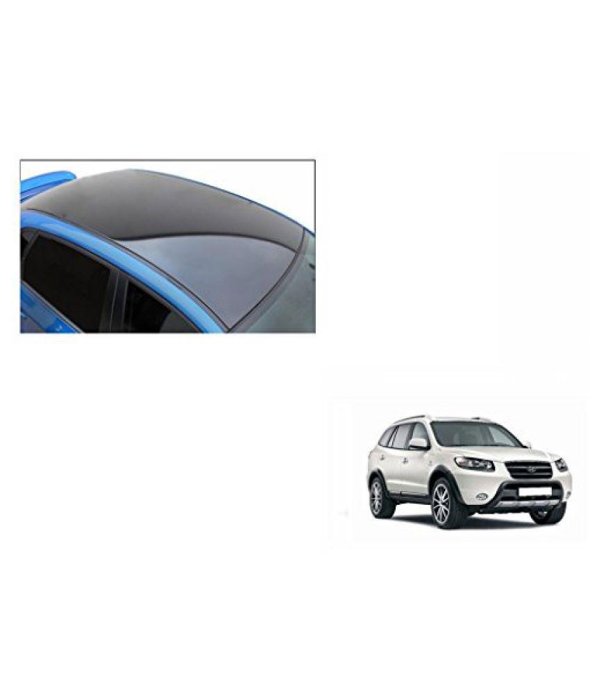Speedwav Car Roof Wrap Sheet Glossy Black-Hyundai Santa Fe Type 1 (2010-2013)