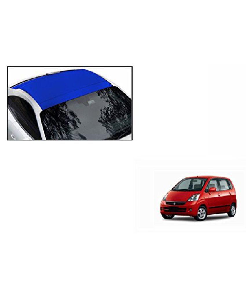 Speedwav Car Roof Wrap Sheet Matt Blue-Maruti Zen Estilo Type 2 (2013-2015)