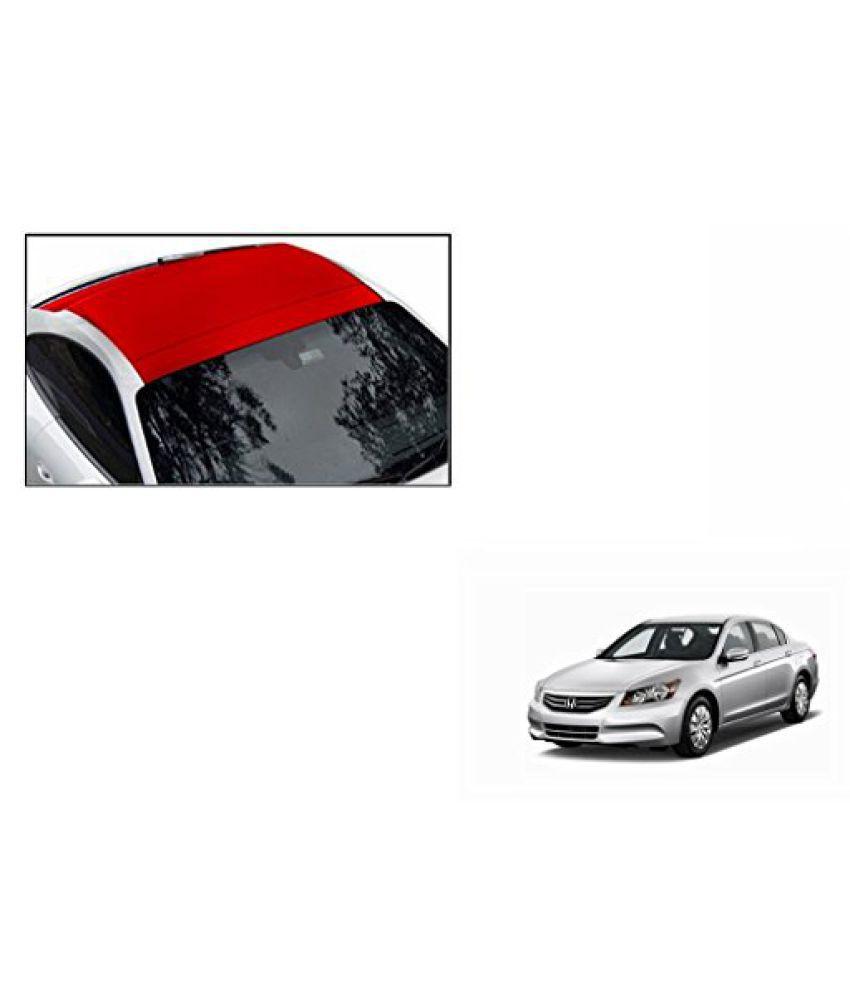 Speedwav Car Roof Wrap Sheet Matt Red-Honda Accord 2.4 Type 3 (2009-2011)