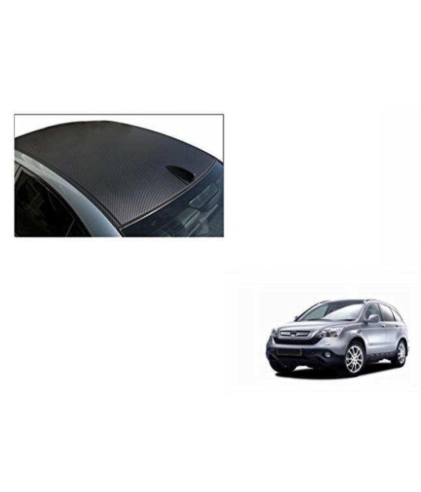 Speedwav Car Roof Wrap Sheet Carbon Design Matt Black-Honda CRV Type 2 (2005-2007)