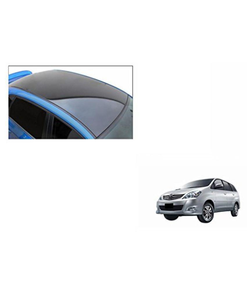 Speedwav Car Roof Wrap Sheet Glossy Black-Toyota Innova Type 3 (2012-2013)