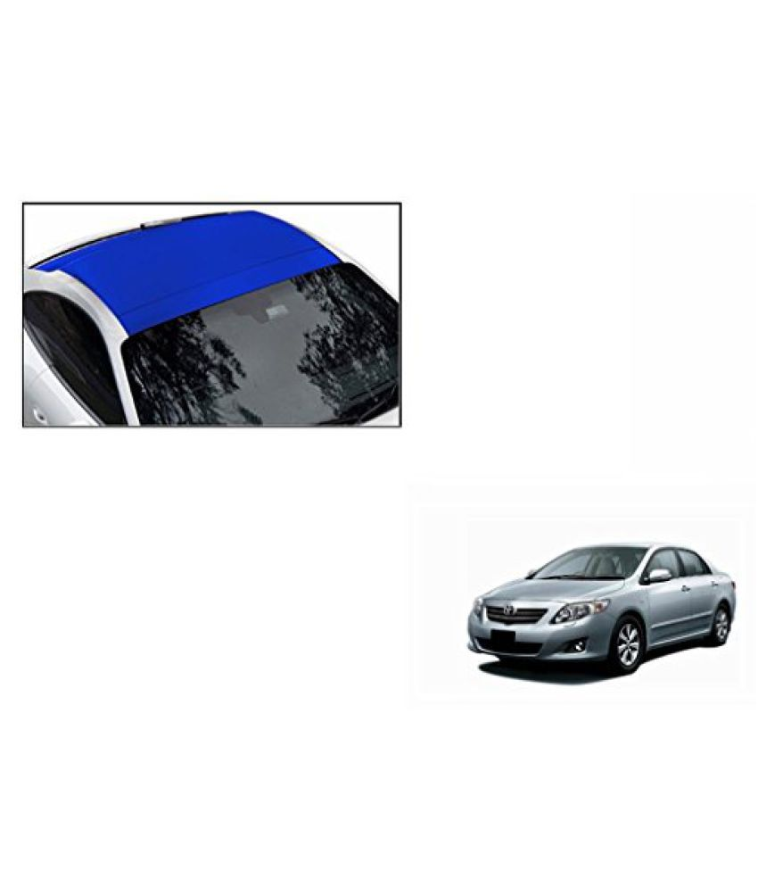 Speedwav Car Roof Wrap Sheet Matt Blue-Toyota Corolla Altis Type 2 (2014-2015)