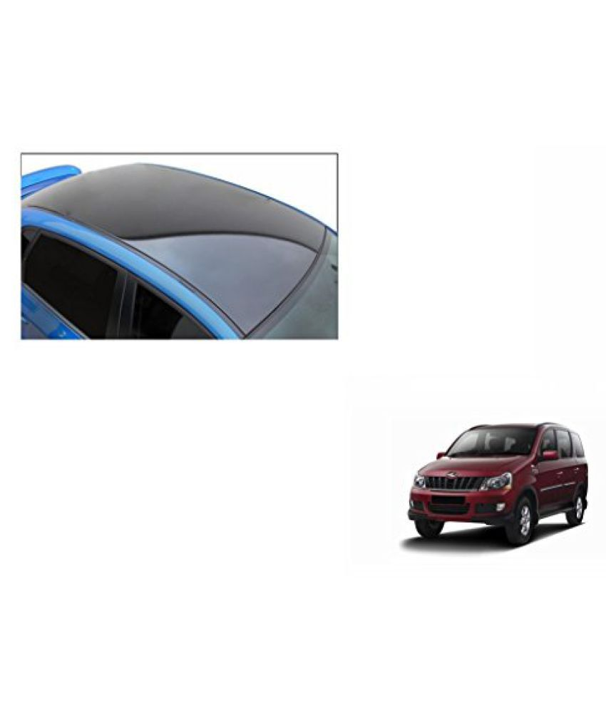 Speedwav Car Roof Wrap Sheet Glossy Black-Mahindra Xylo Type 1 (2007-2009)