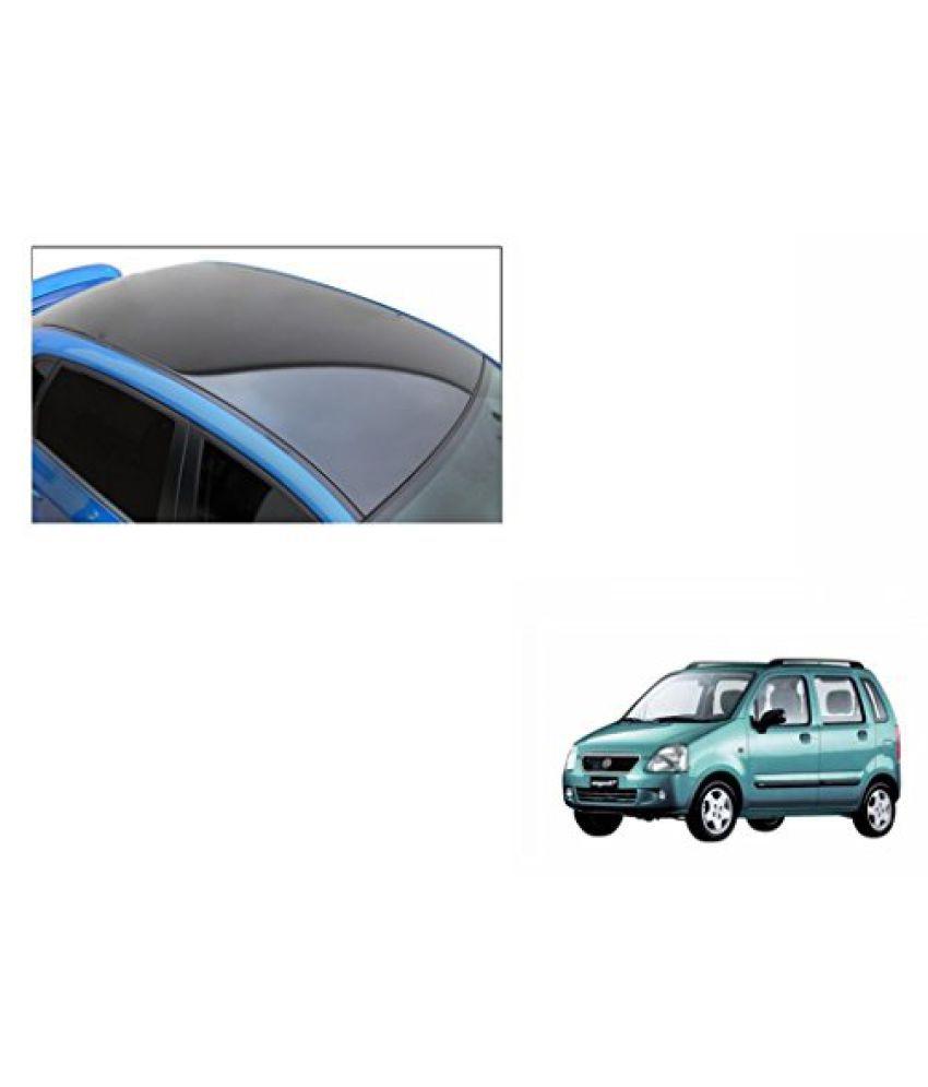 Speedwav Car Roof Wrap Sheet Glossy Black-Maruti WagonR Type 1 (1998-2003)