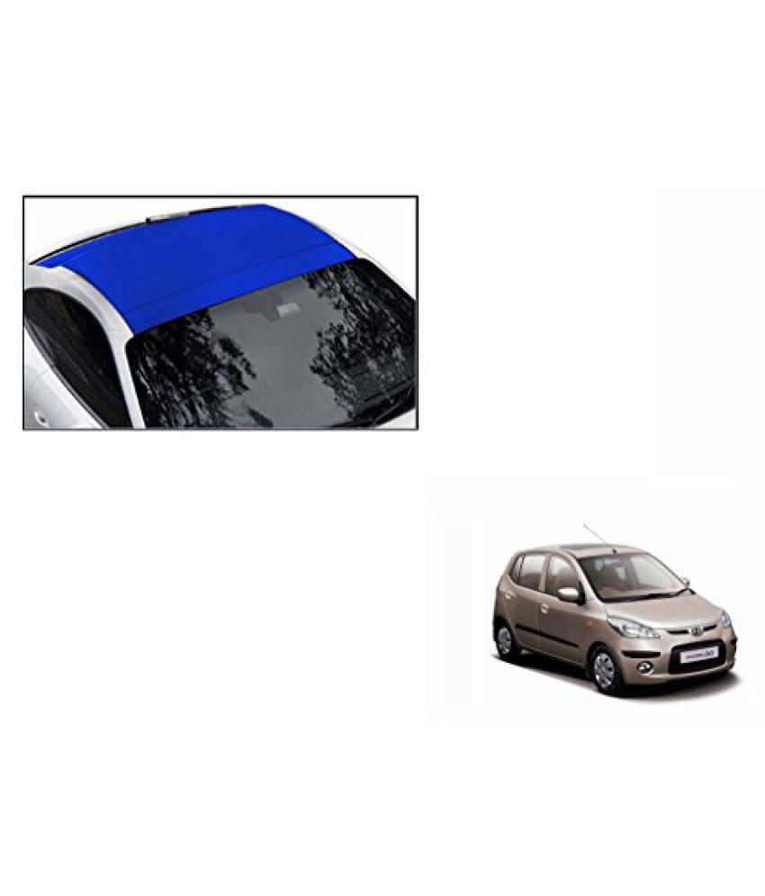 Speedwav Car Roof Wrap Sheet Matt Blue-Hyundai i10 Type 1 (2007-2012)