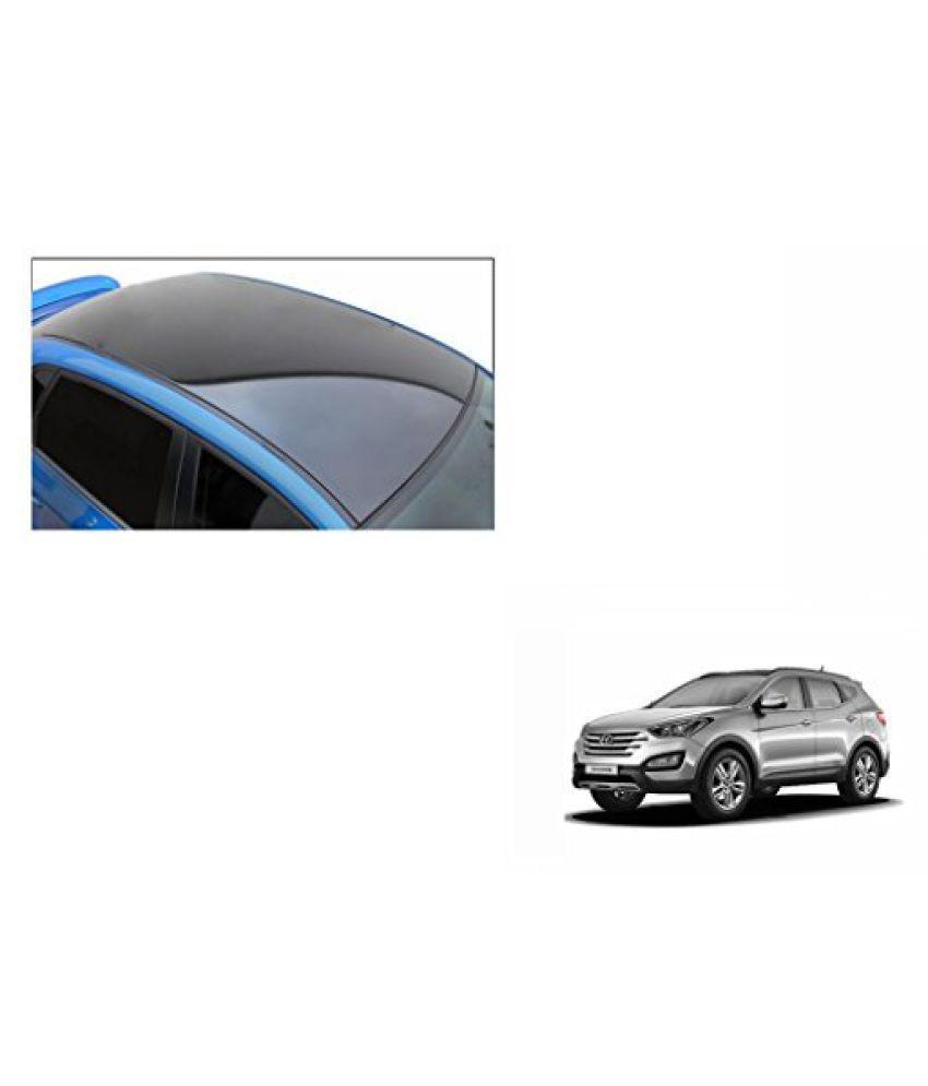 Speedwav Car Roof Wrap Sheet Glossy Black-Hyundai Santa Fe Type 2 (2014-2015)