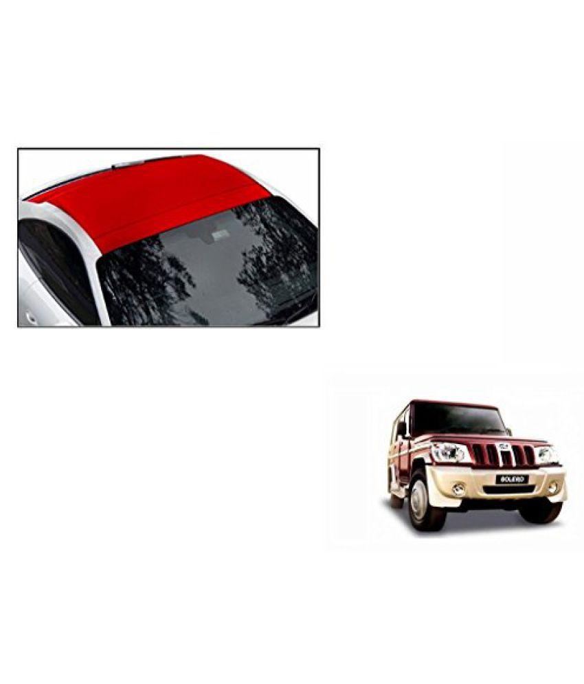 Speedwav Car Roof Wrap Sheet Matt Red-Mahindra Bolero Type 1 (2001-2007)