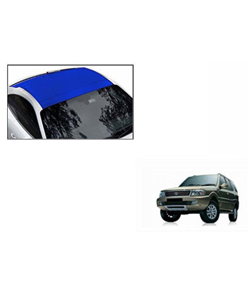 Speedwav Car Roof Wrap Sheet Matt Blue-Tata Safari Dicor 3.0