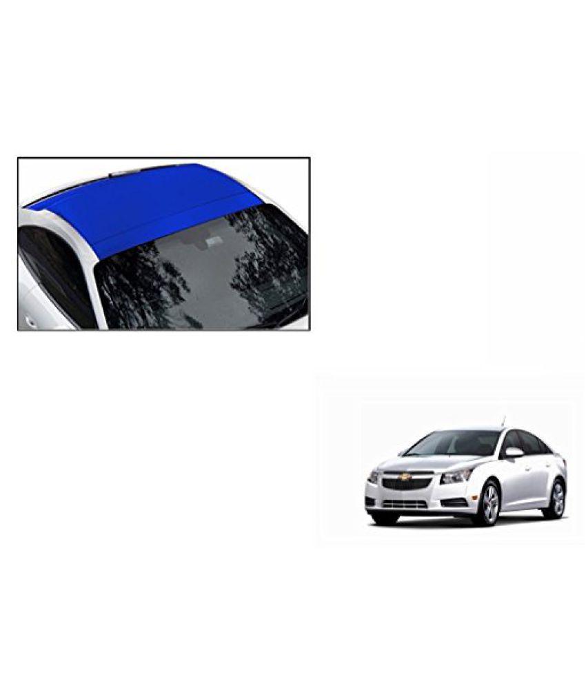 Speedwav Car Roof Wrap Sheet Matt Blue-Chevrolet Cruze Type 1 (2009-2014)