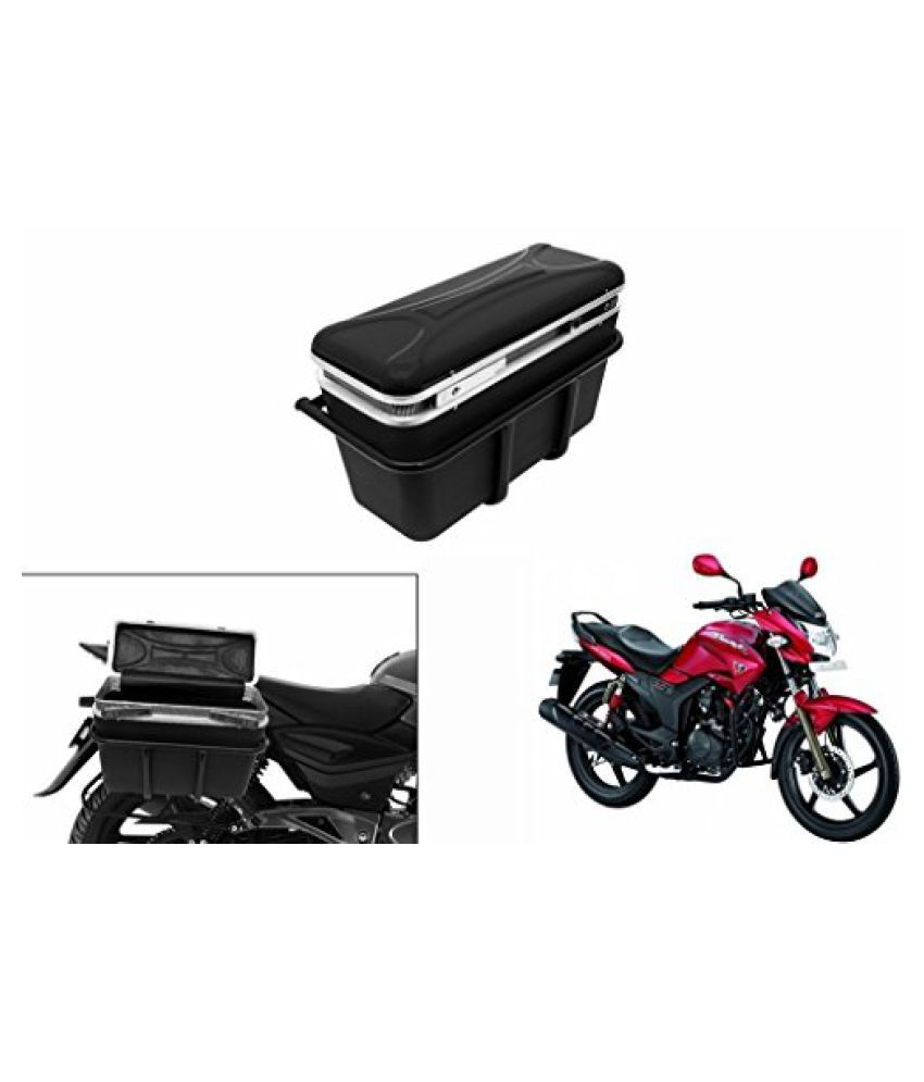 Speedwav DLB-1 Bike Double Lock Luggage Box Black-Hero Hunk