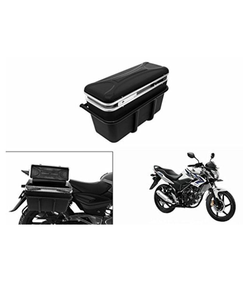 Speedwav DLB-1 Bike Double Lock Luggage Box Black-Honda Trigger