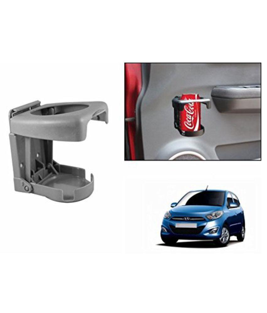 Speedwav Foldable Car Drink Holder Grey-Hyundai i10 Type 2 (2012-2015)