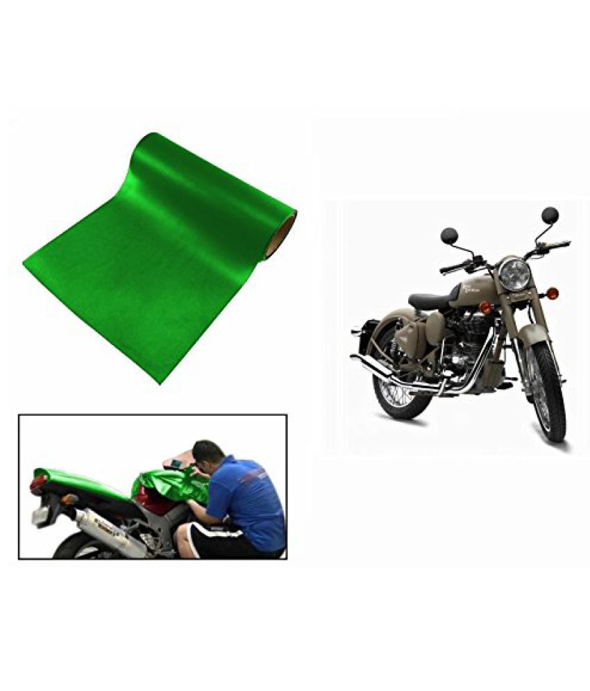 Speedwav Matt Green 3 Meter Bike Wrap Sheet-Bullet Classic Desert Storm