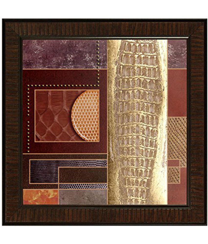 SAF Multi Effect Print Oil Painting (SANFO452, 30 cm x 3 cm x 30 cm)