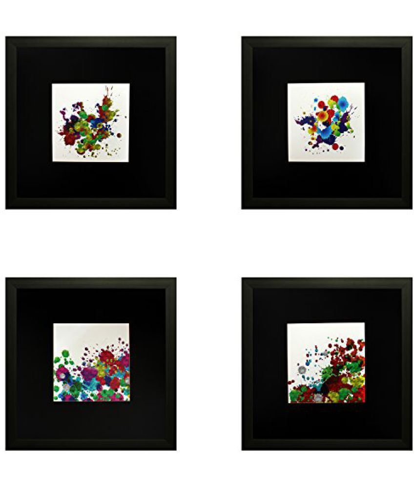 SAF Special Effect Textured Abstract Art Painting (SANFO202, 25 cm x 3 cm x 25 cm)