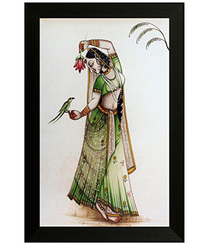 SAF Traditional Art Painting (SANFO05, 20 cm x 3 cm x 30 cm)