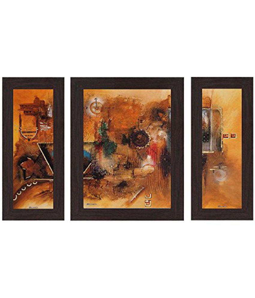 Wens 'Colourful Fusion' Wall Art (MDF, 29.5 cm x 24.5 cm, WSP-4257)