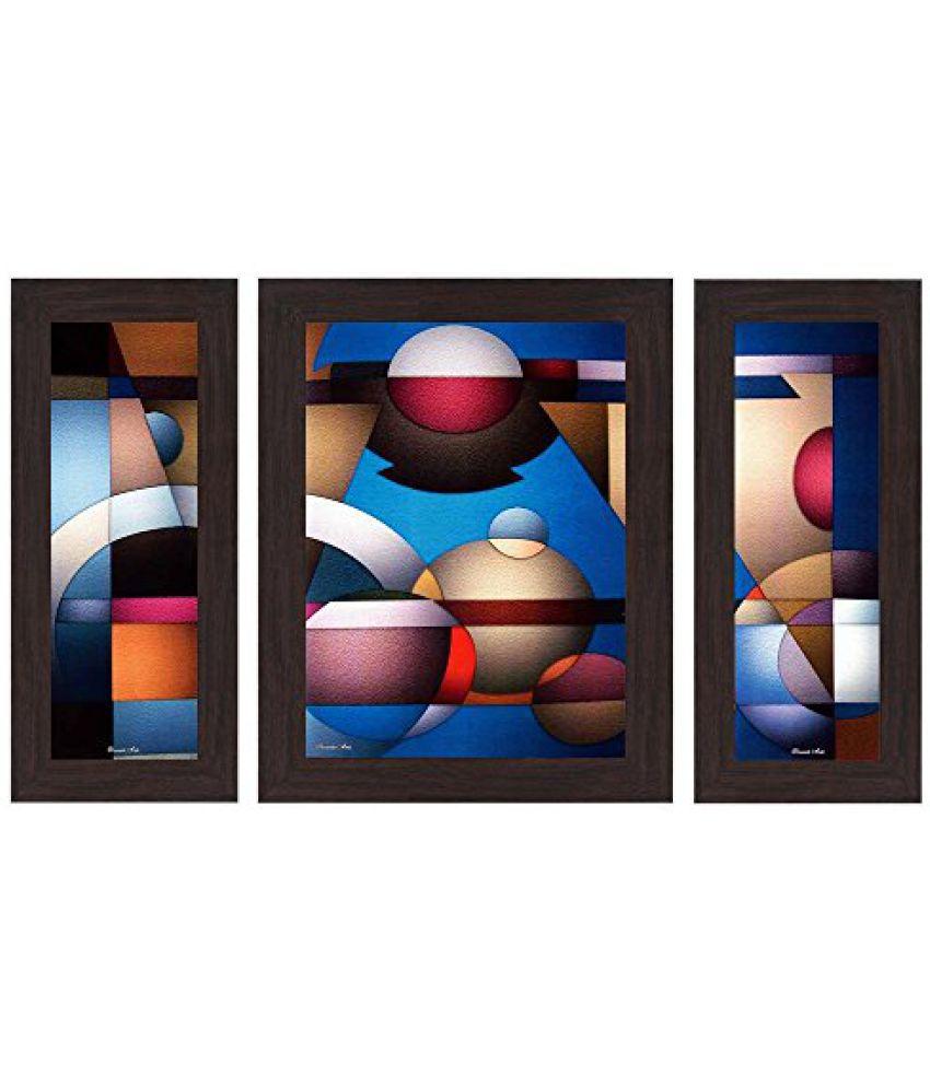 Wens 'Modern Fusion' Wall Art (MDF, 29.5 cm x 24.5 cm, WSP-4215)