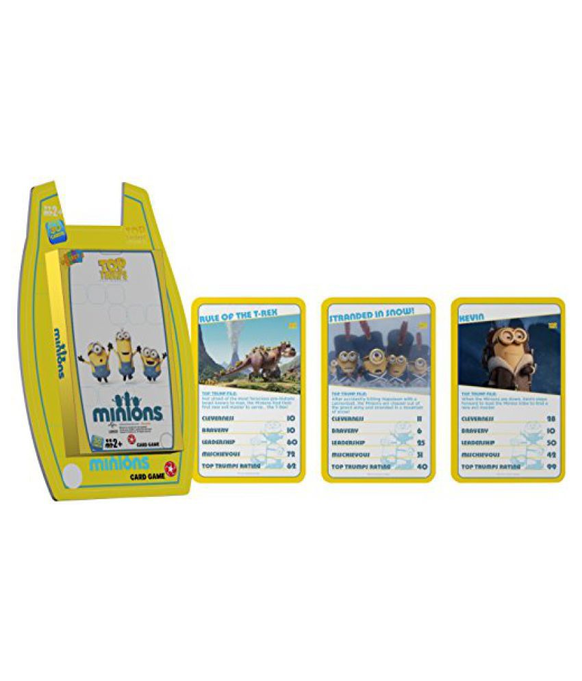 Top Trumps Minions - Deluxe, Yellow/White